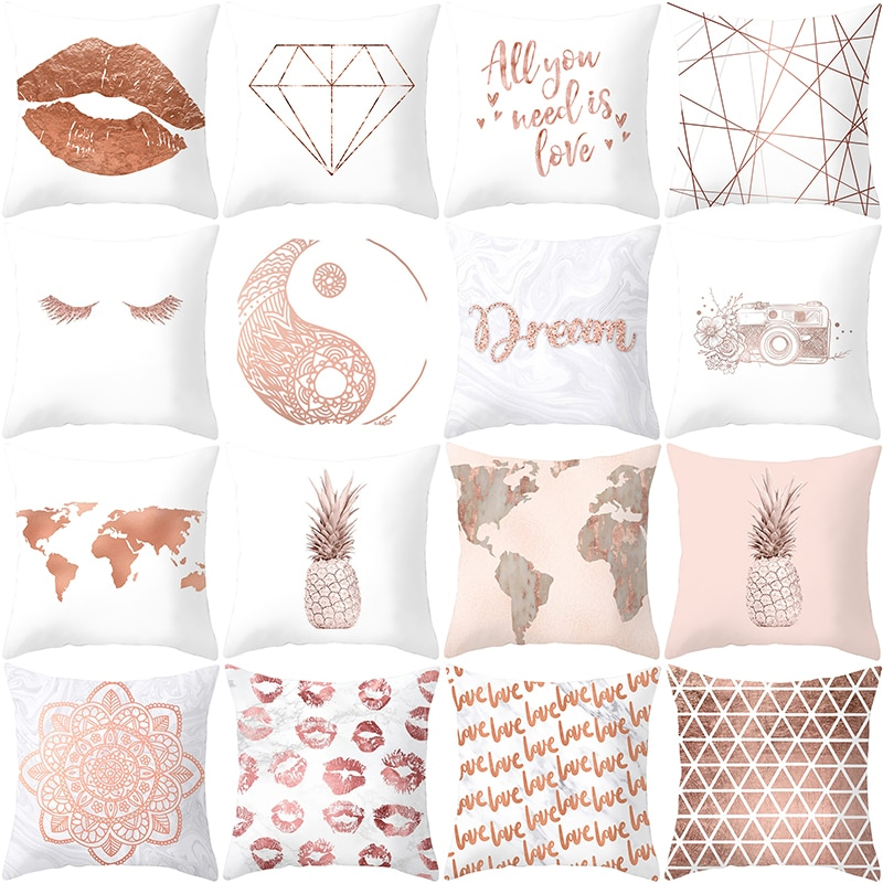 Creative Print Pillow Case
